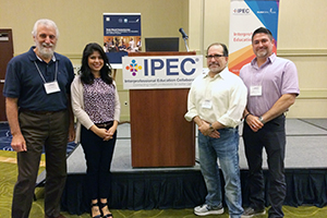 She attended the Interprofessional Education Collaborative (IPEC) Institute in October along with Dr. Eric Boyce, Associate Dean for Academic Affairs, Dr. Paul Subar (Dentistry) and Dr. Darren Cox (Dentistry).