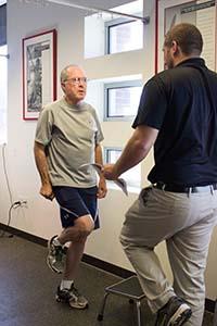 one leg test