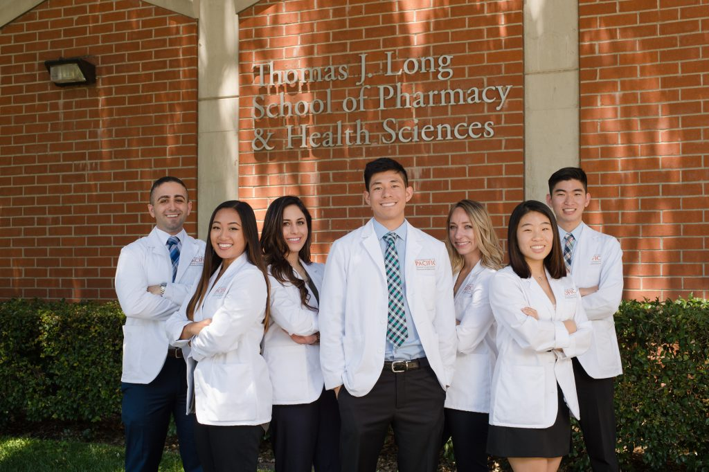 American Pharmacists Association Academy of Student Pharmacists Board from left, Wesley Sweis, Brandi Tacdol, Bianca Khishaveh, Jason Yudiono, Emily Highsmith, Stephanie Hong, Joshua Lin